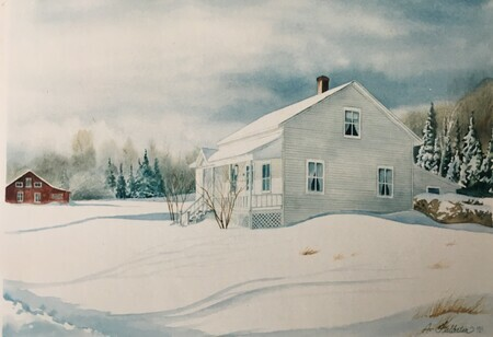 Quebec Farmhouse