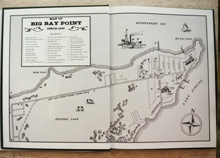 Book illustration - Map of Big Bay Point
