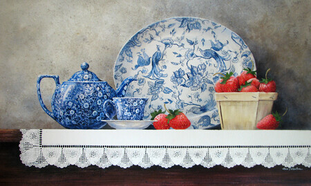 Strawberries and Tea